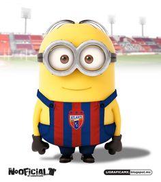 #Soccer #minion #NoOficial #LigraficaMX #Atlante