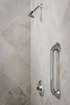 Designer Grab Bar With Shelf Available At Lowes#safety #style Extraordinary Bathroom Safety Bars Decorating Design