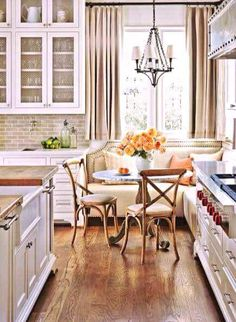 Bright and cheery kitchen