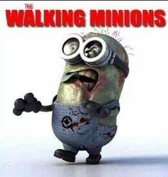 The Walking Minions! Still cute.