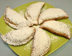 Ricotta cream filled sweet fried ravioli from Sicily
