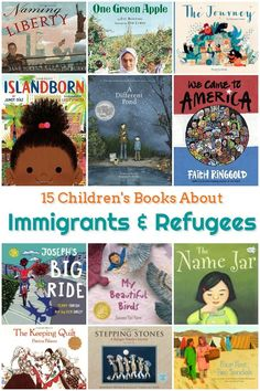 15 Children's Books About Immigrants and Refugees - Feminist Books for Kids - Trend Old Book Ideas 2019 Eve Bunting, Good Books, My Books, Feminist Books, Mentor Texts, Chapter Books, Children's Literature, Library Books, Library Ideas