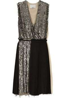 Sparkles and black. Classic.