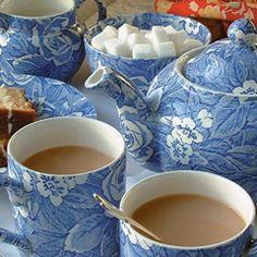 Victorian Chintz porcelain pattern