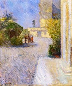 "topcat77: "" Edvard Munch Sunny Day in Nice, 1891 """