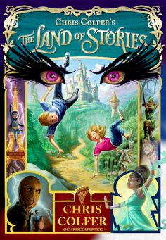 I hope one day land of stories fans such as myself will be watch this amazing tale in a movie P.S Chris, if you're reading this,take my word for it fans will love it! Land Of Stories Series, Book Series, I Love Books, Good Books, Books To Read, Terra, Night At The Museum, Chris Colfer, Chronicles Of Narnia