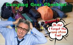 Printable Camping Equipment and Gear Checklist