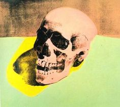 crâne - (Andy Warhol)