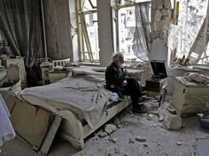 Living Among the Ruins In Aleppo, A Man Keeps Playing His Songs : NPR