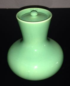 California Pottery 1930s Gladding McBean honey pot promotional for an unknown company