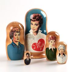 I Love Lucy Nesting Doll