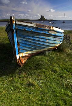 lindisfarne Boats and castle 005