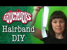 Easy Sandy from Grease hairband tutorial/ Diadema fácil DIY