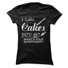 I Turn Cakes ₩ Into ArtNot sold in storescake,turn,art,pastry, cookie, pikelet, sugar loaf,craft, skill, artistry, artifice,piping bag,Offset metal spatula
