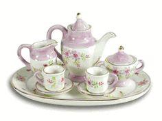 Lavender Fields Miniature Tea Set