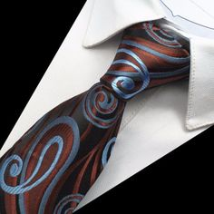 Hodvábny kravatový set - kravata + manžety + vreckovka - vzor03