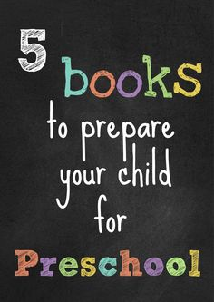 Great toddler books to help ease the transition into preschool life