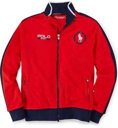 Ralph Lauren Boys' Front Zip Jacket