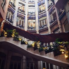 La Pedrera - Casa Milà. #barcelona #gaudi