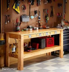 """manly"" workbench"