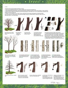 tree tutorial part 2 by calisto-lynn on deviantART