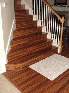Morning star golden zebra strand bamboo floors for Zebra strand bamboo flooring