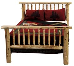 Beau U0027The Bunkhouseu0027 Bed   The Log Furniture Store Log Bedroom Furniture,  Northern White