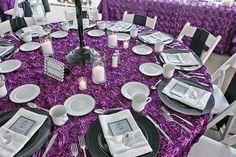 Purple Roses #purple #wedding