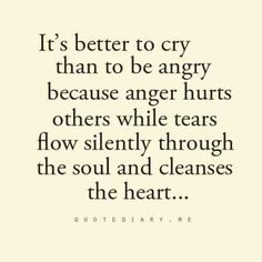 Cleansing the heart was so much better than shutting it down.