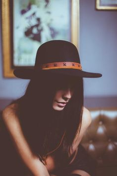 Fashion and class both in leather hats