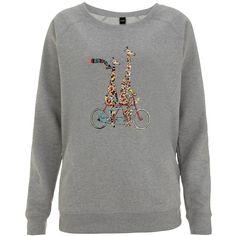 Sweater mit Frontprint - Lässiger grauer Sweater von JUNIQE. Der Sweater ist super für den Alltag. - ab 39,00€
