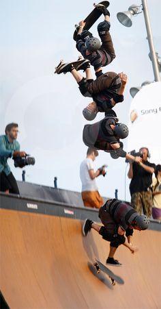 Tony Hawk & friends world tour 2010. #skateboard #halfpipe #photography