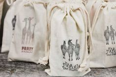Party Animal treat bags