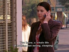 16 'Gilmore Girls' Quotes That Will Make You Feel Better About Being Lazy