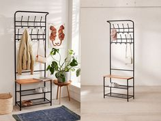 Sandra Beijer Urban Outfitters Coat Hanger, Home Interior Design, Decorative Items, Ladder Decor, Furniture, Home Decor, Urban Outfitters, Homes, House