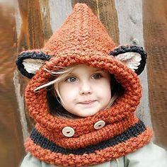Baby Hat Winter Hats For Girls Cartoon Animal Beanies Cat Fox Ear Children's Hats Baby Caps Scarf Set Bonnet Enfant Beanie Babies, Knitted Baby Beanies, Baby Hats, Knitted Hats, Knitted Scarves, Wool Hats, Kids Beanies, Fox Scarf, Fox Hat