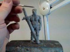 How to sculpt fantasy miniatures Part 7 of 15