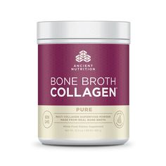 With Bone Broth Collagen™ You Can Support your Tendons, Ligaments, Muscle Tissues, Healthy Digestion, Glowing Skin.