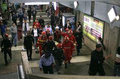 Accidente la metroul bucurestean