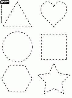 preescolares formas geométricas activida