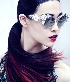 Fashion Couture | Tian Yi by Yin Chao for Vogue China August 20