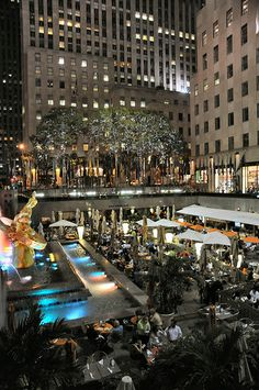 Rockefeller Plaza, New York City