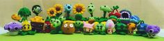 Amigurumi Plants vs. Zombies: The Crocheting Dead