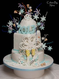Cake Decorating Quorn : 1000+ images about New Years Cakes on Pinterest New ...