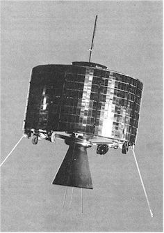 First geosynchronous communications satellite  Syncom 2 (1963)