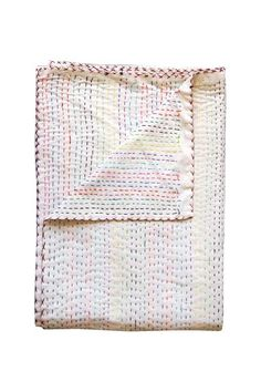 Use yarn or a thicker silk & embroider a blanket. Or try a handtowel first. YOU CAN GET THIS EFFECT! Heidi Merrick beach blanket