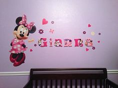Personalized Wooden Wall Letters for Nursery and by AllysCustomArt, $13.00