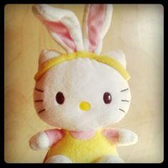 Hello Kitty Easter bunny costume