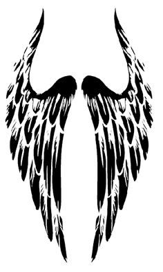 Tribal-Angel-Wings-Tattoo.png (360×600)