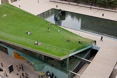 The Hypar Pavilion at Lincoln Center - New York By Diller Scofidio + Renfro Architects and FXFOWLE Photo Iwan Baan.